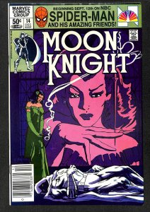 Moon Knight #14 VF+ 8.5 1st Stained Glass Scarlet!