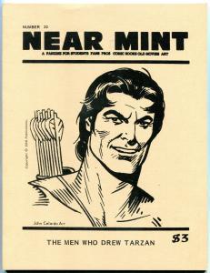 Near Mint Fanzine #20 1982- Tarzan- Durango Kid- Guardineer VF