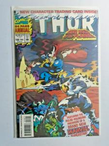 Thor #18 polybagged Annual 1st Series 8.0 VF (1993)