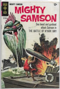 Mighty Samson   (Gold Key)   #12 GD/VG