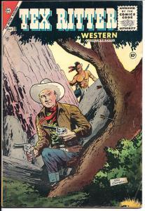 Tex Ritter #30 - Golden Age - August 1955 (Fine)