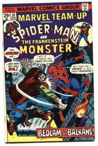 Marvel Team-up #37 Spider-Man vs. Frankenstein comic book VF/NM