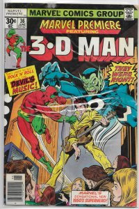 Marvel Premiere   #36 FR 3-D Man, Thomas/Craig