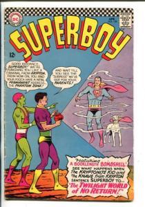 SUPERBOY #128-1966-DC-PHANTOM ZONE-vg