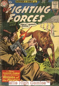 OUR FIGHTING FORCES (1954 Series) #58 Very Good Comics Book