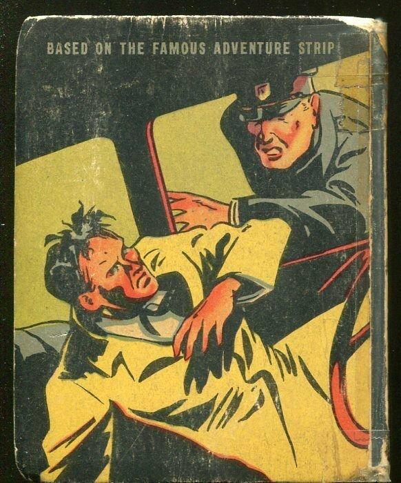 RADIO PATROL-BIG LITTLE BOOK-#1496-1939-OUTWITTING THE GANG CHIEF-good/vg
