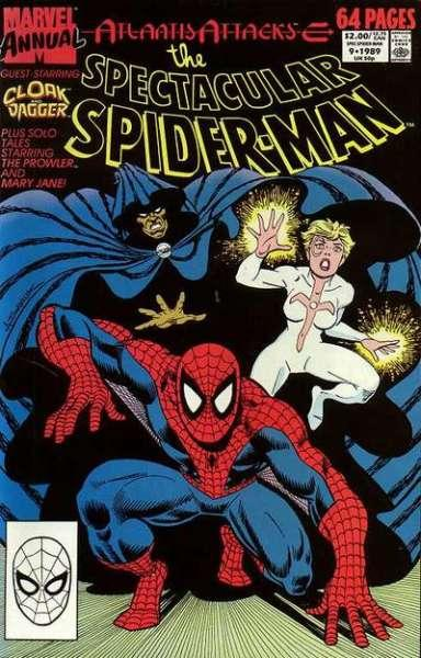Spectacular Spider-Man (1976 series) Annual #9, VF+ (Stock photo)