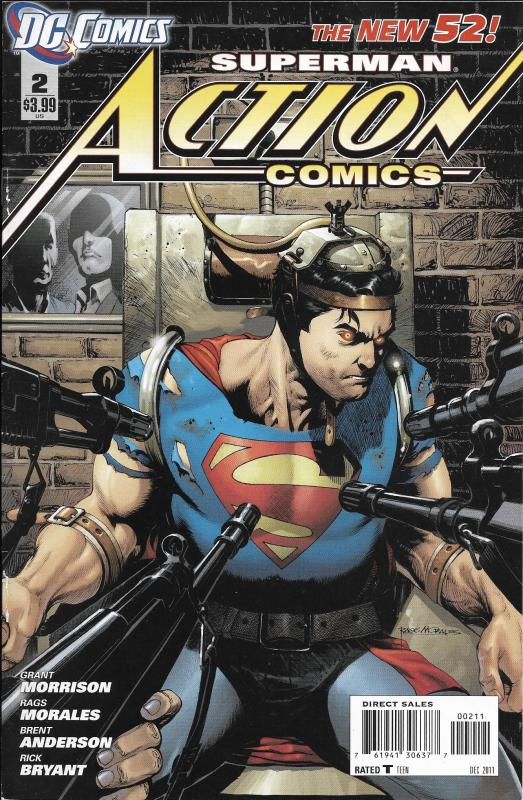Superman Action Comics The New 52 #2