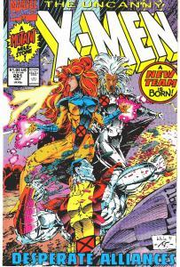 X-Men 281 1st App. Trevor Fitzroy (White Rook, Chronomancer - KEY