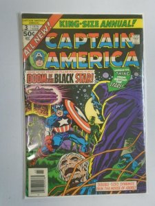 Captain America Annual #3 4.0 VG (1976 1st Series)