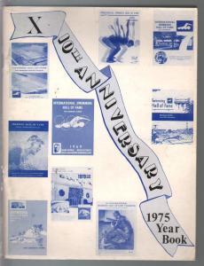 International Swimming Hall Of Fame Program 1975-pix-info-FN