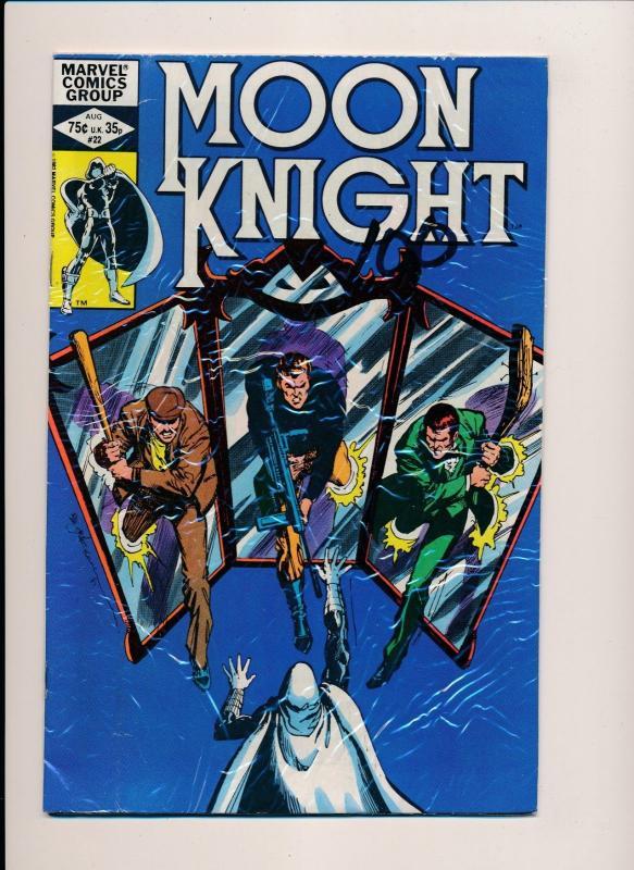 Marvel Comics MOON KNIGHT #22 ~ FINE (HX758)