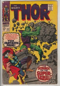Thor, the Mighty #142 (Jul-67) VG Affordable-Grade Thor