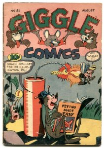 Giggle #21 1945-ACG Golden Age funny animals VG-