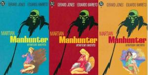 MARTIAN MANHUNTER AMERICAN SECRETS (1992) 1-3  COMPLETE