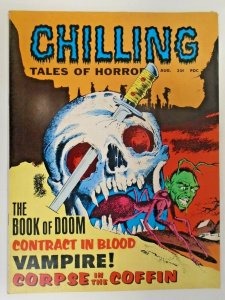 mm Chilling Tales of Horror v1 (1969) #2vf/nm Classic Cover!