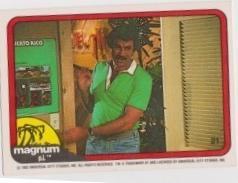 1983 Donruss MAGNUM P.I. #21
