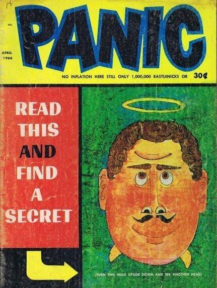 ORIGINAL Vintage April 1966 Panic Magazine