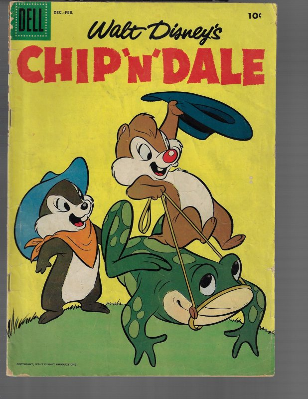 Chip N Dale #8 (Dell, 1954)