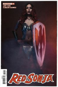 Red Sonja #11 Cvr D Cosplay Variant (Dynamite, 2017) NM
