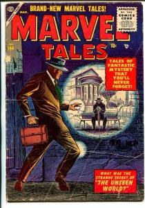 Marvel Tales #144 1956-Atlas-elusive issue-Al Williamson-Joe Sinott-Krenkel-G+