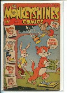 MONKEYSHINES COMICS (1944 ACE) #21 Poor A00077