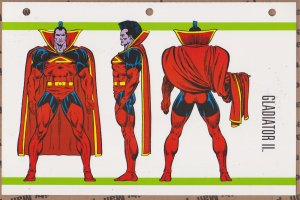 Official Handbook of the Marvel Universe Sheet- Gladiator II