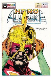 Hero Alliance (1987 Wonder Color Comics) #1 VF