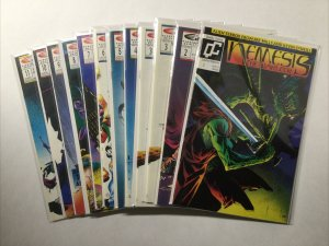 Nemesis The Warlock 1 2 3 4 5 6 7 8 9 10 11 Lot Run Set Near Mint- 9.2 Fleetway