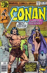 Conan the Barbarian #93 FN; Marvel | save on shipping - details inside