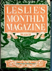 Leslie's Monthly 3/1905-pulp format magazine-unique ads-nice art-VG