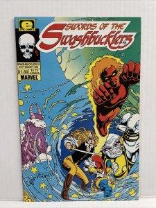 Swords Of The Swashbucklers #9 Epic/Marvel