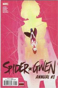 Spider-Gwen Annual #1 (2016) Jason Latour 1st Mr. Sparkle She-Hulk NM