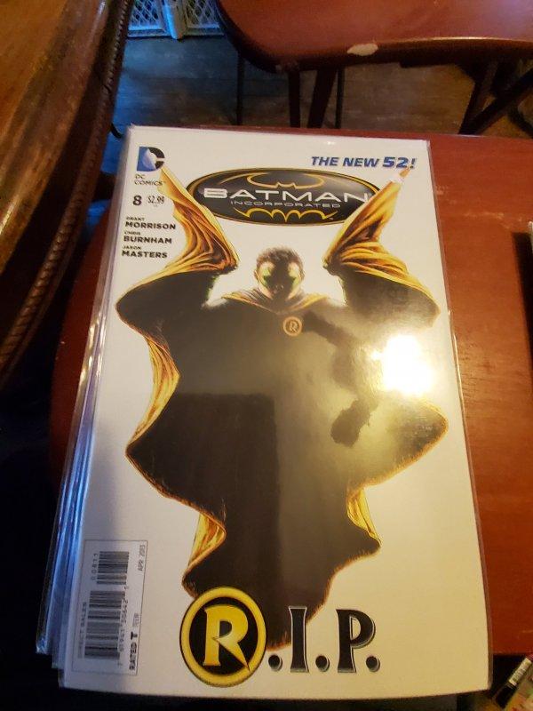 Batman, Incorporated #8 (2013)