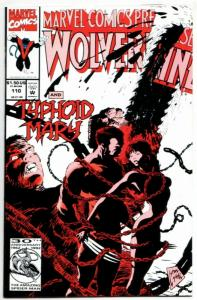 Marvel Comics Presents #110 Wolverine & Typhoid Mary (Marvel, 1992) NM