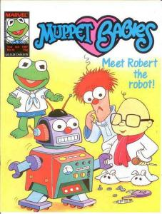 MUPPET BABIES (BRITISH WEEKLY) 14  VF-NM Jan 31, 1987