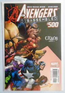 Avengers (3rd Series) #500, 8.0/VF (2004)