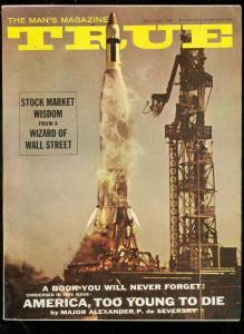 TRUE MAGAZINE JULY 1961-EARLE NELSON-GEORGE GROSS ART VG