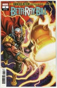 Annihilation Scourge Beta Ray Bill #1 Zircher Variant (Marvel, 2020) NM