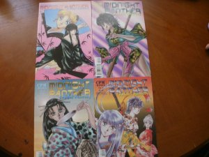 4 CPM MANGA Comic Mini-Series: MIDNIGHT PANTHER FEUDAL FANTASY 1 2 3 4 (Mature)