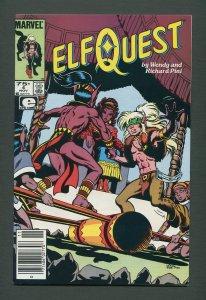 Elfquest #4  /  7.5 VFN-  /  Newsstand / November 1985