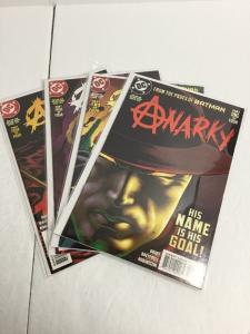 Anarky 1-4 Mini Series Lot Set Run Nm Near Mint DC Comics IK