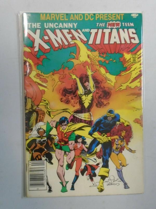 X-Men and the Teen Titans #1 (1982 1st print) 5.0/VG/FN