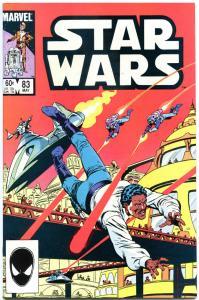 STAR WARS #83, NM-, Luke Skywalker, Darth Vader, 1977, more SW in store