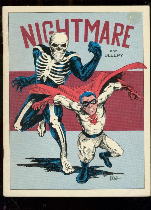 Rocket's Blast And Comicollector Fanzine #102--Nightmare and Sleepy cover