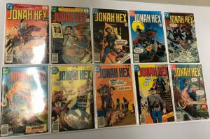 Bronze Age DC Western Comic Lot Jonah Hex from#2-88 67 diff AVG 6.0 FN (1977-84)