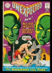 THE UNEXPECTED #106 1968 DC FIRST JOHNNY PERIL MYSTERY VG+