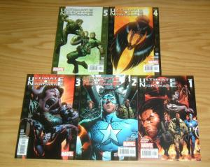 Ultimate Nightmare #1-5 VF/NM complete series - warren ellis - x-men/ultimates