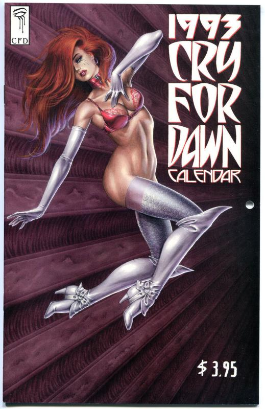 CRY FOR DAWN 1993 CALENDAR, NM, Joseph Linsner, more JML in store