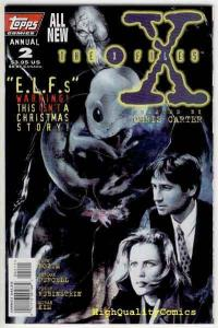 X-FILES #2 Annual, NM+, ELFs, Scully, Fox Mulder, Carter, more XF in store